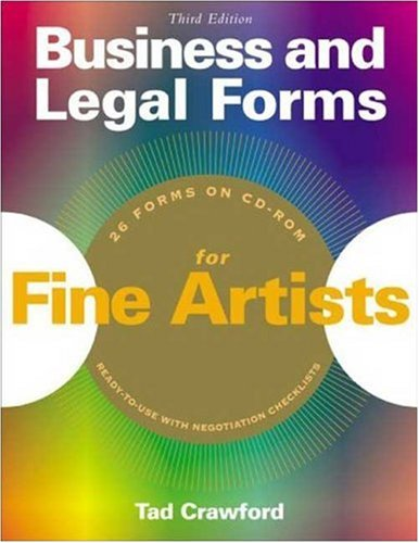Business and Legal Forms for Fine Artists [With CDROM] 9781581154283