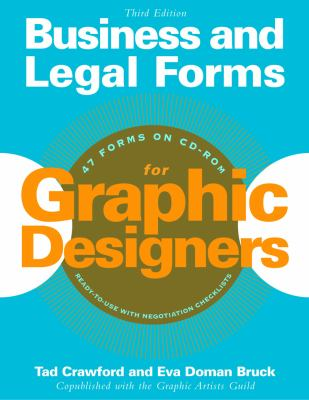 Business and Legal Forms for Graphic Designers [With CDROM] 9781581152746