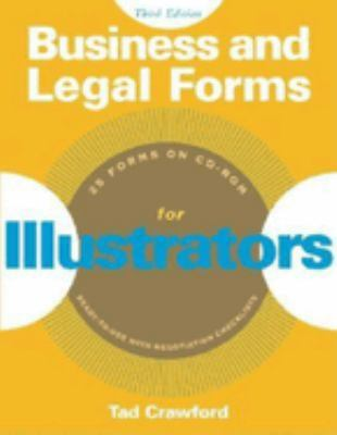 Business and Legal Forms for Illustrators 9781581153644