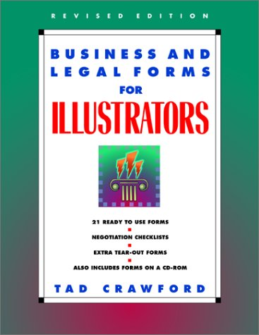 Business and Legal Forms for Illustrators 9781581150087