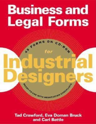 Business and Legal Forms for Industrial Designers [With CDROM] 9781581153989