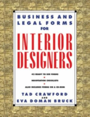 Business and Legal Forms for Interior Designers [With CDROM] 9781581150971