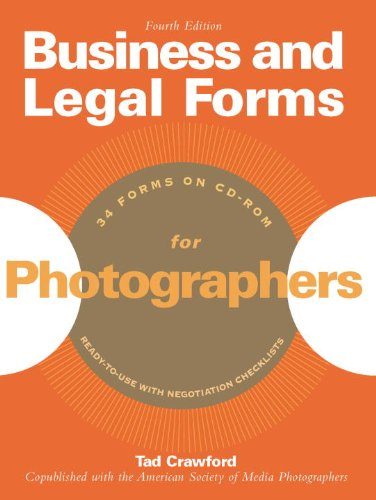Business and Legal Forms for Photographers [With CDROM] 9781581156690