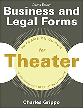 Business and Legal Forms for Theater, Second Edition 9781581159233