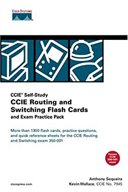 CCIE Routing and Switching Flash Cards and Exam Practice Pack (CCIE Self-Study) [With CDROM and Flash Cards] 9781587201295