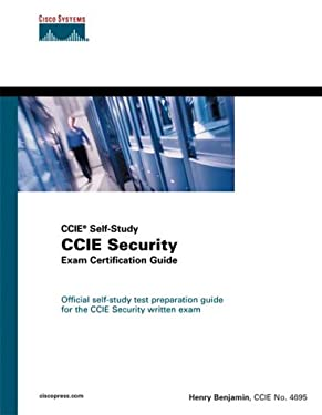 CCIE Security Exam Certification Guide (CCIE Self-Study) [With CDROM] 9781587200656