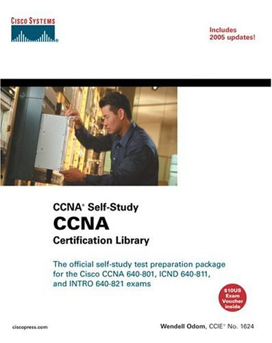 CCNA Certification Library (CCNA Self-Study, Exam #640-801) 9781587200953