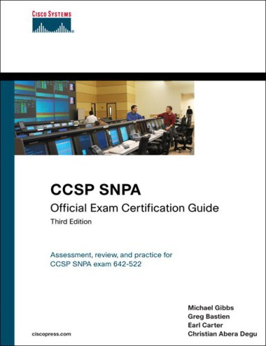 CCSP SNPA Official Exam Certification Guide [With CDROM] 9781587201523
