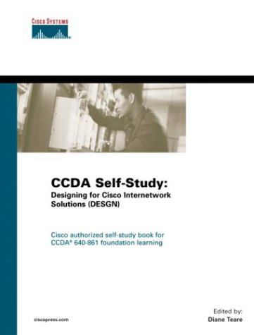 Ccda Self-Study: Designing for Cisco Internetwork Solutions (Desgn 640-861 9781587051418