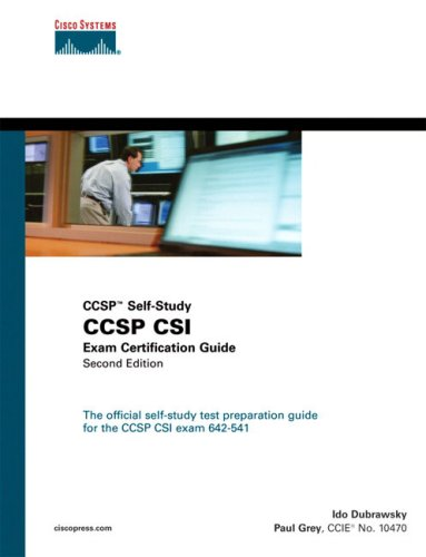 Ccsp Csi Exam Certification Guide [With CDROM] 9781587201325