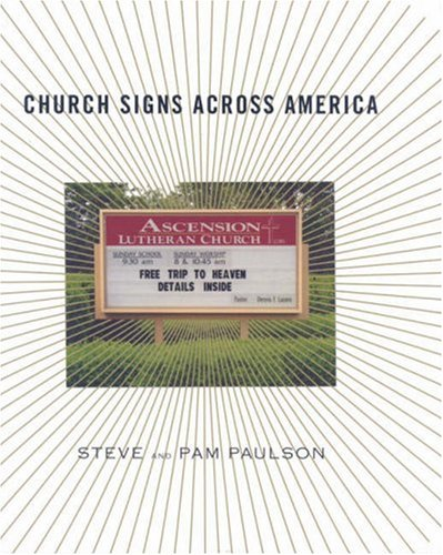Church Signs Across America 9781585677146