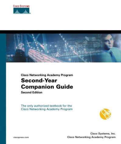 Cisco Networking Academy Program: Second-Year Companion Guide [With CDROM] 9781587130298