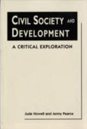 Civil Society and Development: A Critical Exploration 9254448
