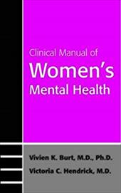 Clinical Manual of Women's Mental Health 7185641