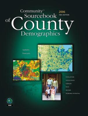 Community Sourcebook of County Demographics 9781589481473