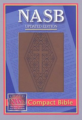 Compact Bible-NASB-Diamond/Cross 9781581351415