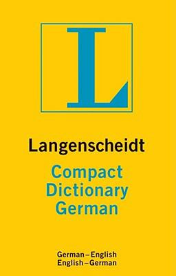 Compact Dictionary German 9781585736072