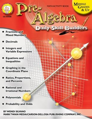 Pre-Algebra, Middle Grades & Up 9781580374453