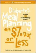 Diabetes Meal Planning on $7 a Day -- Or Less! 9781580400237