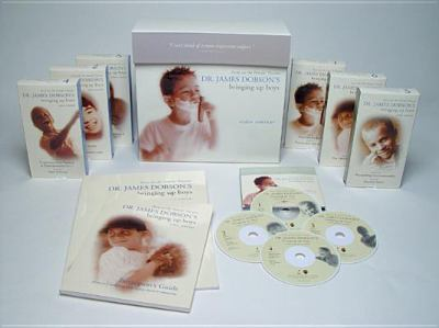 Dr. James Dobson's Bringing Up Boys Video Seminar [With Vhs] 9781589971929