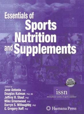 Essentials of Sports Nutrition and Supplements [With CDROM] 9781588296115