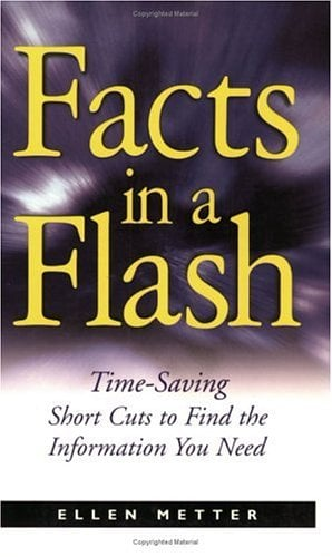 Facts in a Flash: A Research Guid for Writers 9781582971636
