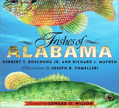 Fishes of Alabama 9781588340047