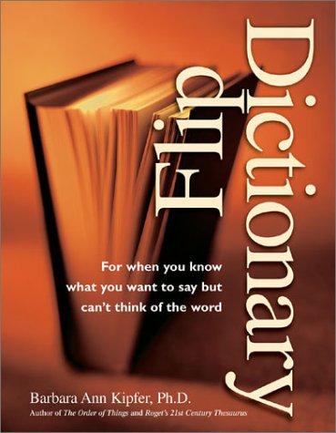 Flip Dictionary Flip Dictionary 9781582971407