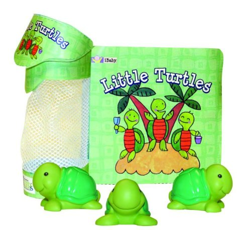 Float-Alongs Little Turtles [With 3 Turtles] 9781584768081