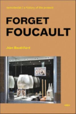 Forget Foucault 9781584350415