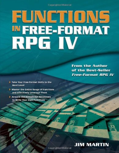 Functions in Free-Format RPG IV 9781583470879