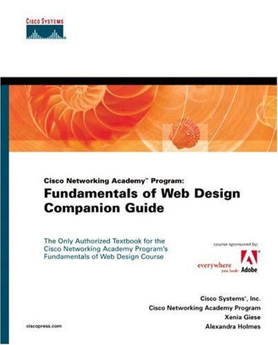 Fundamentals of Web Design Companion Guide [With CDROM] 9781587130663