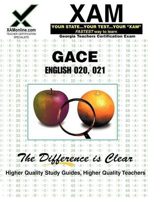 GACE English 020, 021 9781581975741