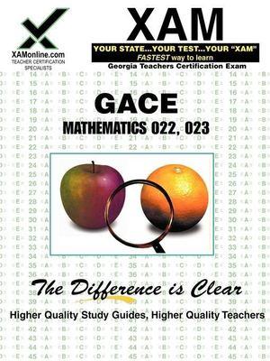 GACE Mathematics 022, 023 9781581975369