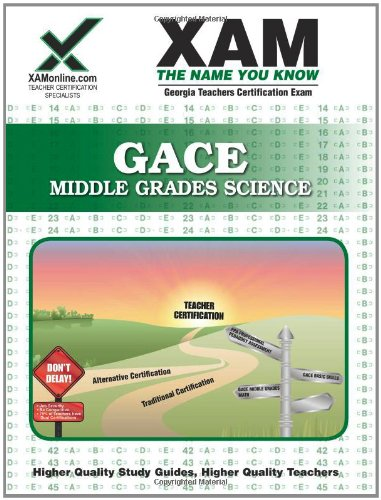 GACE Middle Grades Science 14: Teacher Certification Exam 9781581975918