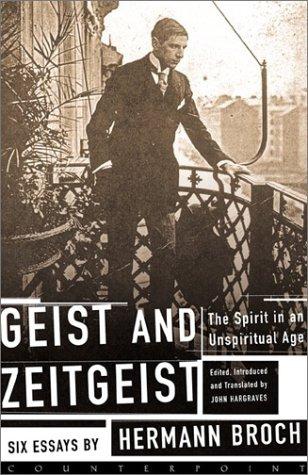 Geist and Zeitgeist 9781582431680