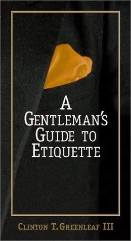 Gentleman's GD.to Etiquette 9781580625609