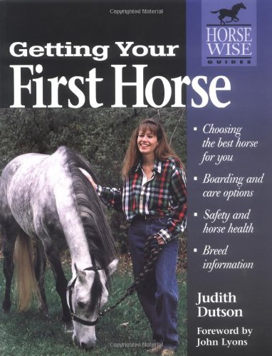 Getting Your First Horse 9781580170789