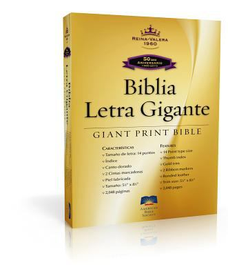 Giant Print Bible-Rvr 1960-50th Anniversary 9781585168972