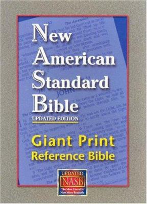 Giant Print Reference Bible-NASB 9781581351262