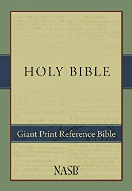 Giant Print Reference Bible-NASB 9781581351033