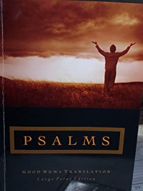 Large Print Psalms-GNT 9781585168217