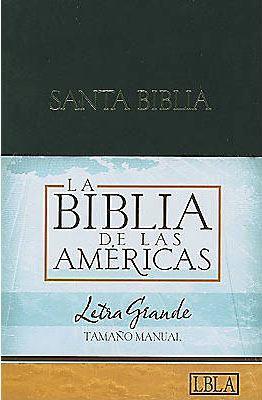 Hand Size Giant Print Bible-Lbla 9781586403898