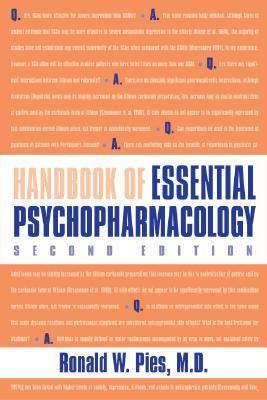 Handbook of Essential Psychopharmacology 9781585621682