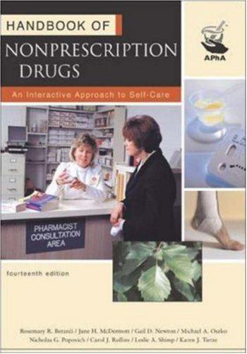 Handbook of Nonprescription Drugs 9781582120508