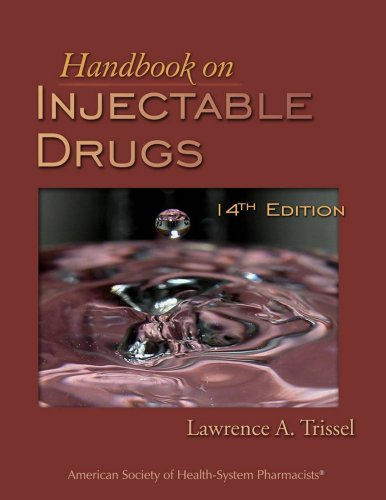 Handbook on Injectable Drugs 9781585281503