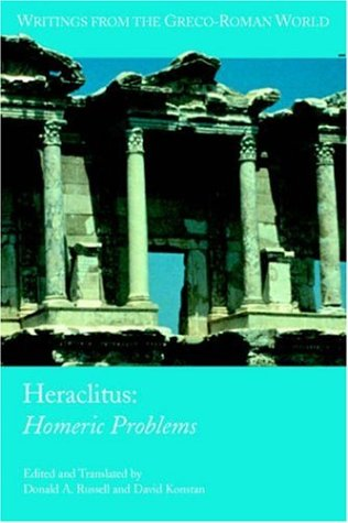 Heraclitus: Homeric Problems 9781589831223