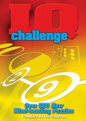 IQ Challenge: Over 500 New Mind-Bending Puzzles 9781586637637