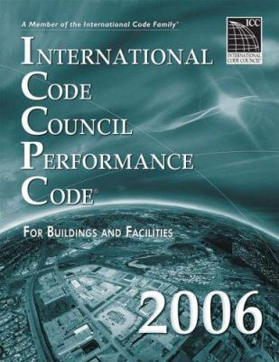 International Code Council Performance Code for Building and Facilities 9781580012621