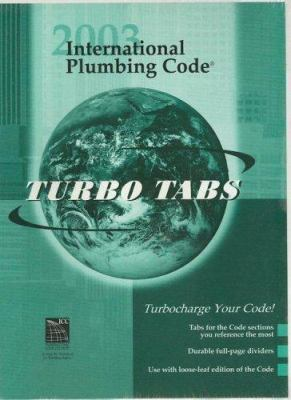 International Plumbing Code: Turbo Tabs 9781580011747